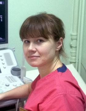 Специалист ультразвуковой диагностики медицинского центра «ТАТМЕД» Котлова Елена Валерьевна